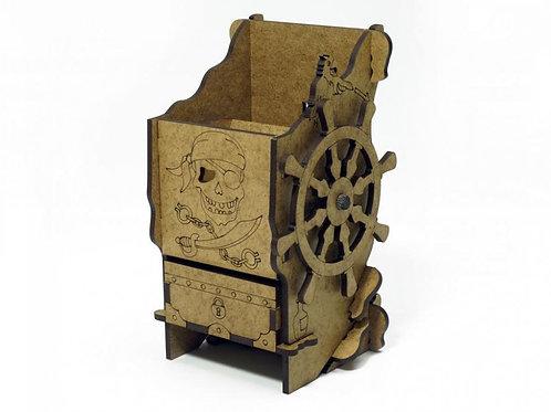 Башня для бросания кубиков (Dice Tower). Пиратская