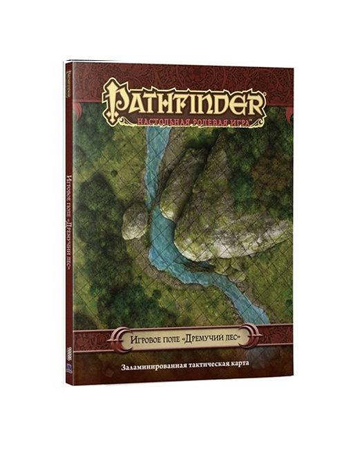 """Pathfinder. НРИ. Игровое поле """"Дремучий лес"""""""