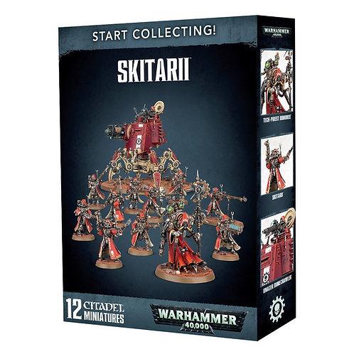 WARHAMMER 40000: Start Collecting! Skitarii (Скитарии)
