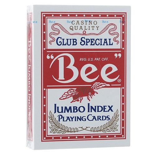 Карты Bee №77 (крупный индекс)