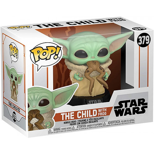 Фигурка Funko POP! Bobble: Star Wars: Mandalorian: The Child (with Frog)