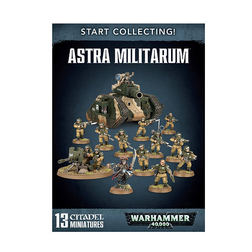 WARHAMMER 40000: Start Collecting! Astra Militarum (Астра Милитарум)