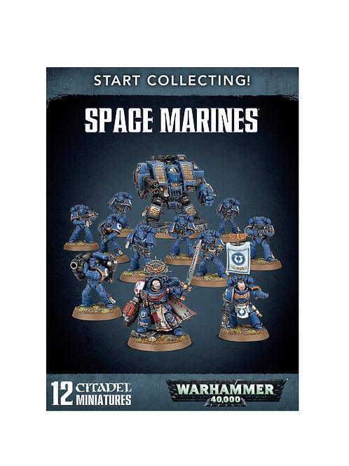 WARHAMMER 40000: Start Collecting! Space Marines (Космический Десант)
