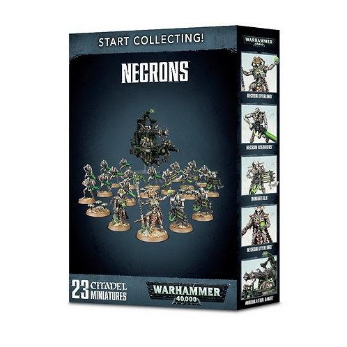 WARHAMMER 40000: Start Collecting! Necrons (Некроны)