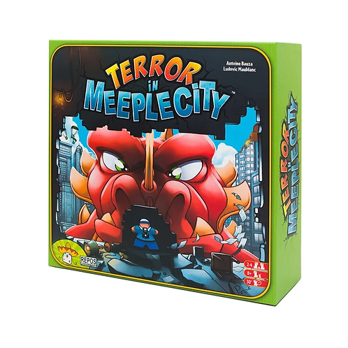 Ярость (Terror in Meeple City)