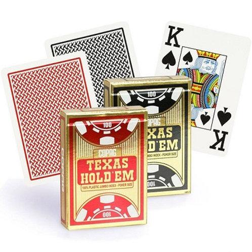 Карты COPAG «Texas Hold'em» 100% пластик