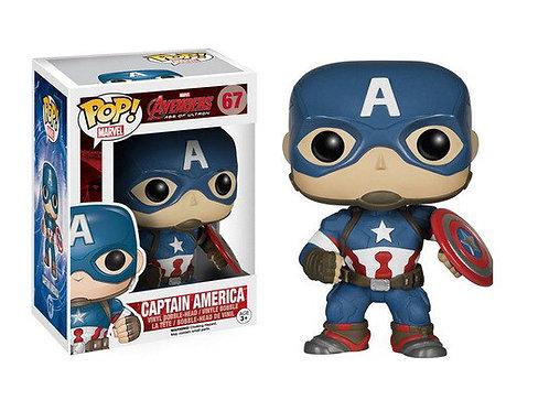 Реплика Funko POP! Marvel: Avengers Age of Ultron: Captain America 67