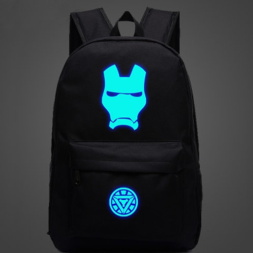 Рюкзак Железный Человек (люминесцентный)