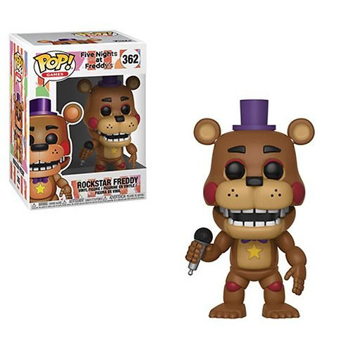 Фигурка Funko POP! Vinyl: Games: FNAF Pizza: Rockstar Freddy 362