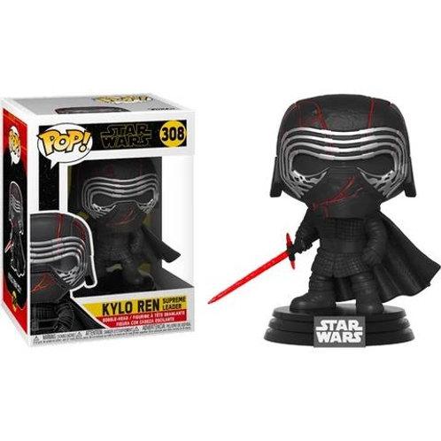 Фигурка Funko POP! Bobble: Star Wars E9: Kylo Ren Supreme Leader 308