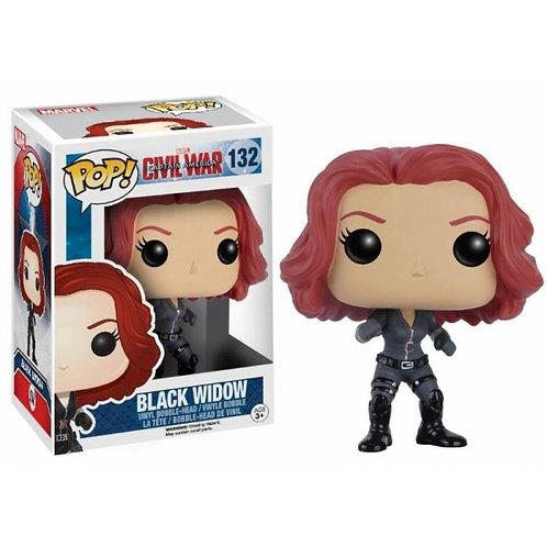 Реплика Funko POP! Marvel: Captain America Civil War: Black Widow 132