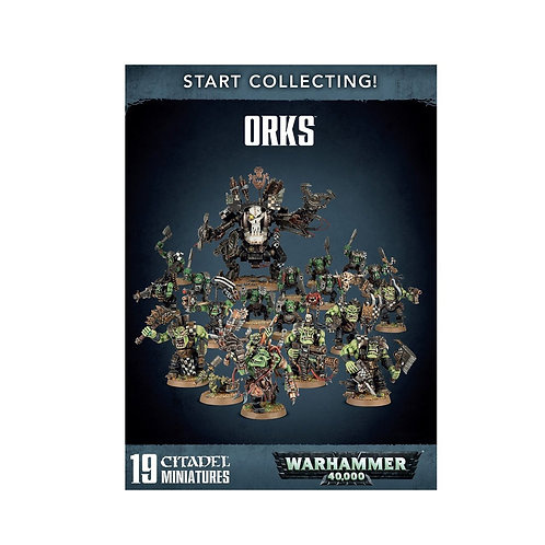 WARHAMMER 40000: Start Collecting! Orks (Орки 40000)