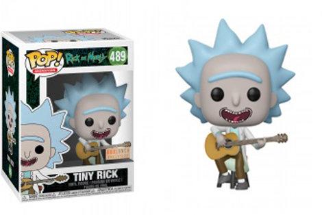 Фигурка Funko POP! Vinyl: Rick & Morty: Tiny Rick (Guitar)
