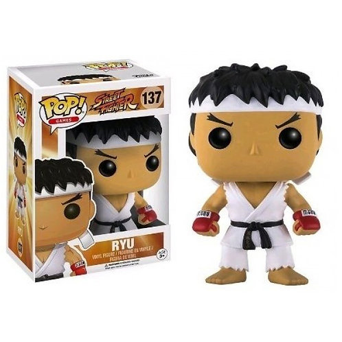 Фигурка Funko POP! Vinyl: Games: Street Fighter: Ryu White Headband