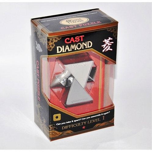 Головоломка Алмаз*/ Cast Puzzle Diamond*