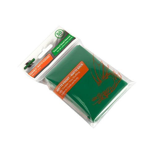 Протекторы Blackfire Double-Matte (50 шт) зеленые