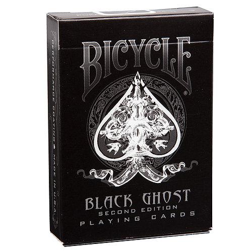 Карты Bicycle Ghost (черные)