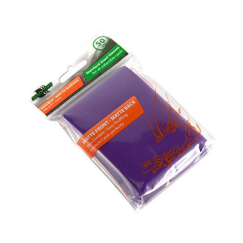 Протекторы Blackfire Double-Matte (50 шт) фиолетовые