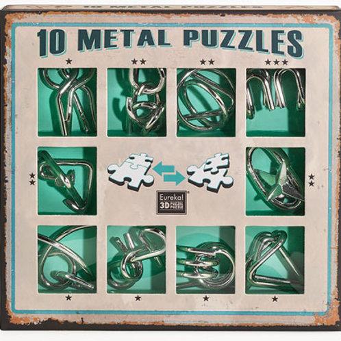Набор из 10 головоломок Eureka зеленый