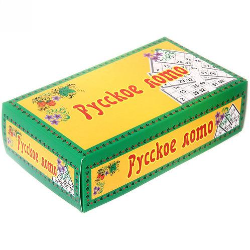 Русское лото (картонная коробка) г. Киров