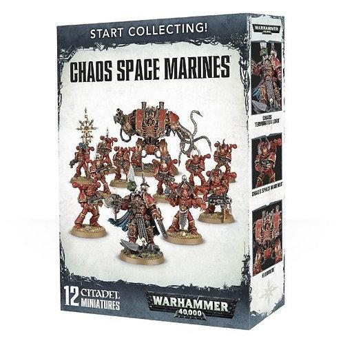 WARHAMMER 40000: Start Collecting! Chaos Space Marines (Космодесантники Хаоса)
