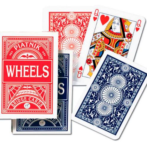Игральные карты Wheels (Круги Бридж) (55 листов)