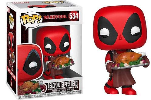 Фигурка Funko POP! Bobble: Marvel: Holiday: Deadpool (Turkey) 534