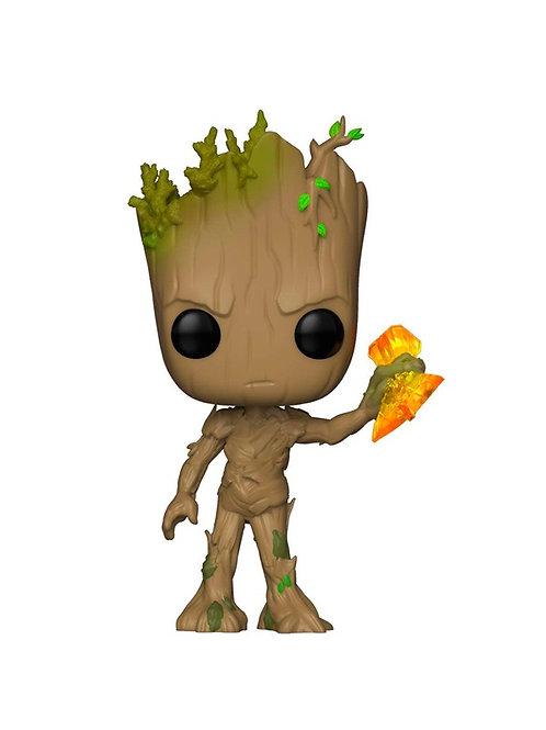 Фигурка Funko POP! Bobble: Marvel: Avengers Infinity War S2: Groot 416 (Stormbre