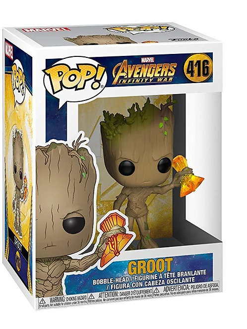 Фигурка Funko POP! Bobble: Marvel: Avengers Infinity War S2: Groot