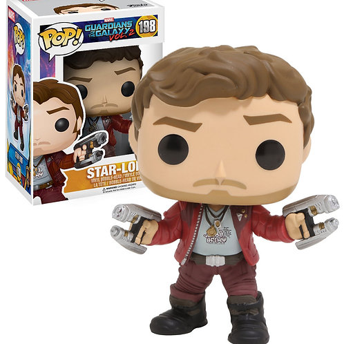 Реплика Funko POP! Marvel: Guardians of the Galaxy 2: Star-Lord 198