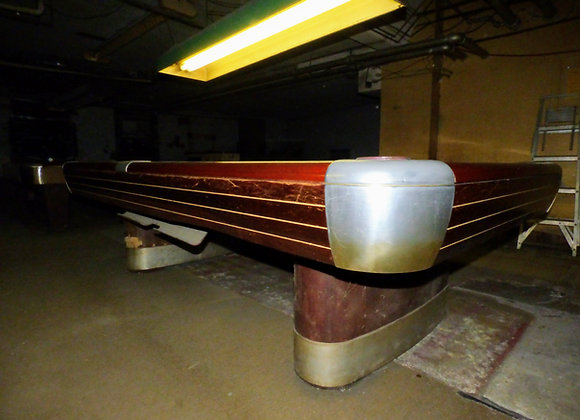 Vintage/Antique Brunswick Billiards Mid Century Modern 9' Anniversary