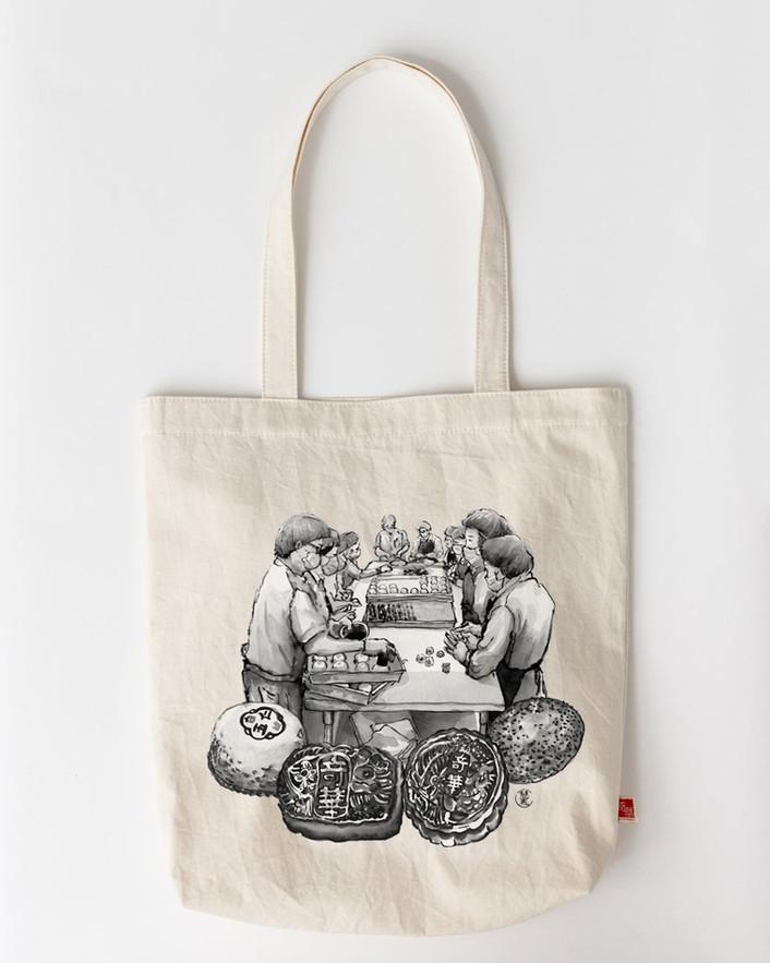 奇華餅家 Kee Wah Bakery x Art Dreamers X 慧惠 Wai Wai 奇華80周年「以禮傳情」別注版購物袋