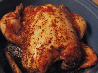 Crock Pot Rotisserie Style Chicken