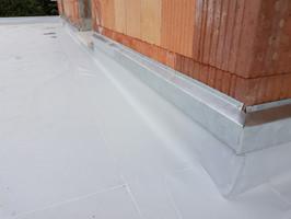 Etanchéité membrane PVC.