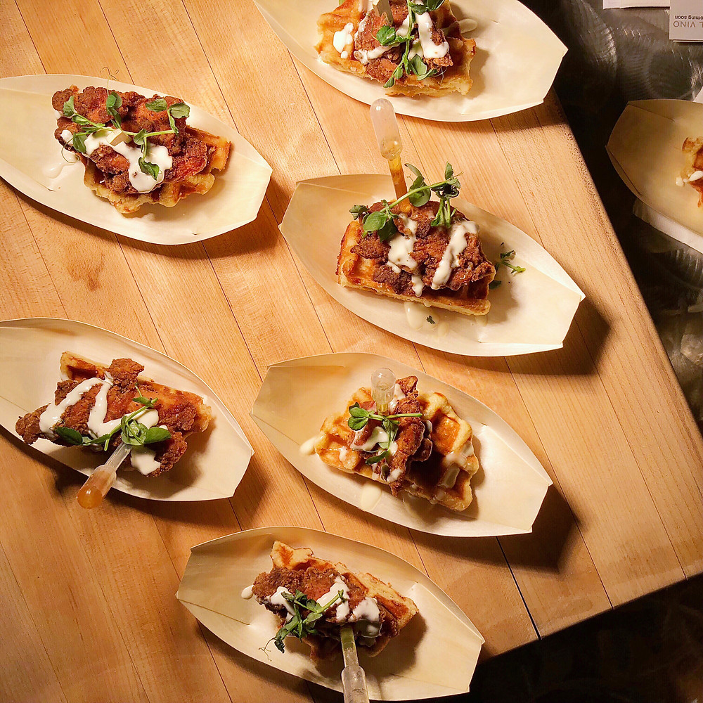 Rocky Mountain Wine & Food Festival: Chicken and Waffles by the Shaw Conference Centre