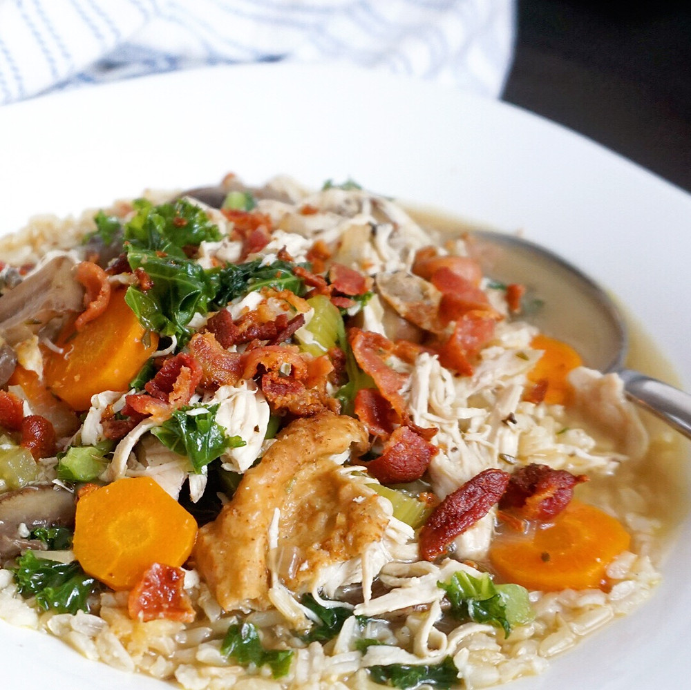 Cooking Light: Creamy Chicken & Wild Rice Soup