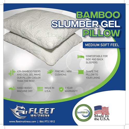 Bamboo Slumber Gel Pillow.Put 2 in Quantity and only be charged for one!