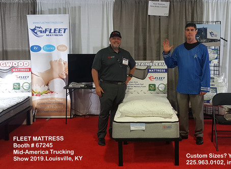 Bed Time at MATS2019