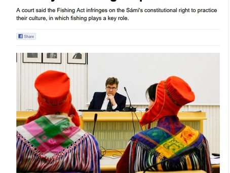 Supreme Court is handling Deatnu fisheries dispute