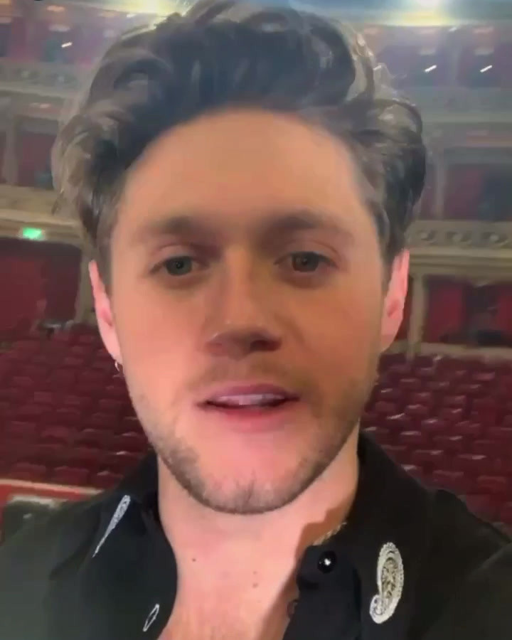 Niall after the RAH Show