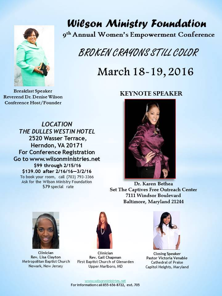 2016 WMF Conference Flyer