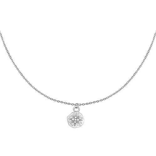 Ketting Hammered star
