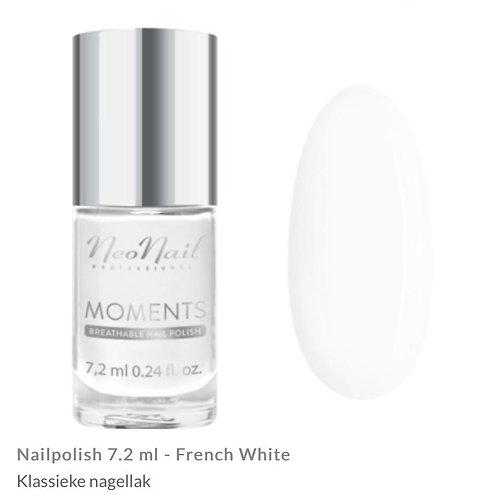 Nagellak Moments French White