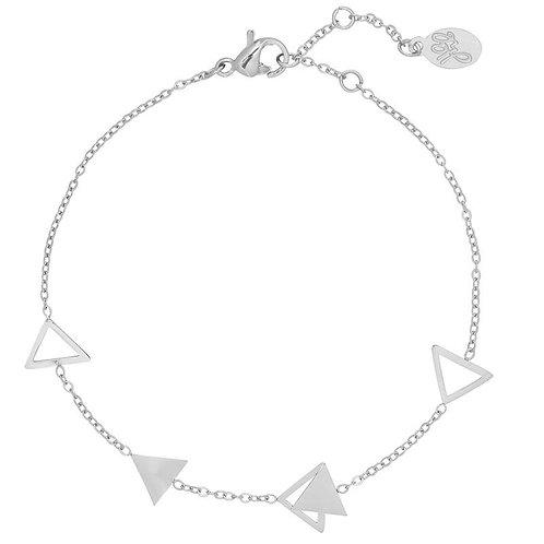 Armband Jazzy triangle