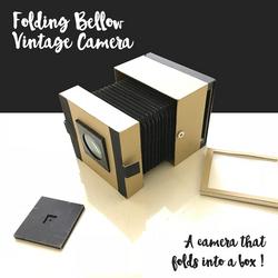 Folding Bellow Vintage Camera