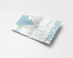 Tourist Map Design