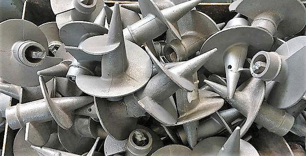 Литые наконечники для внтовых свай