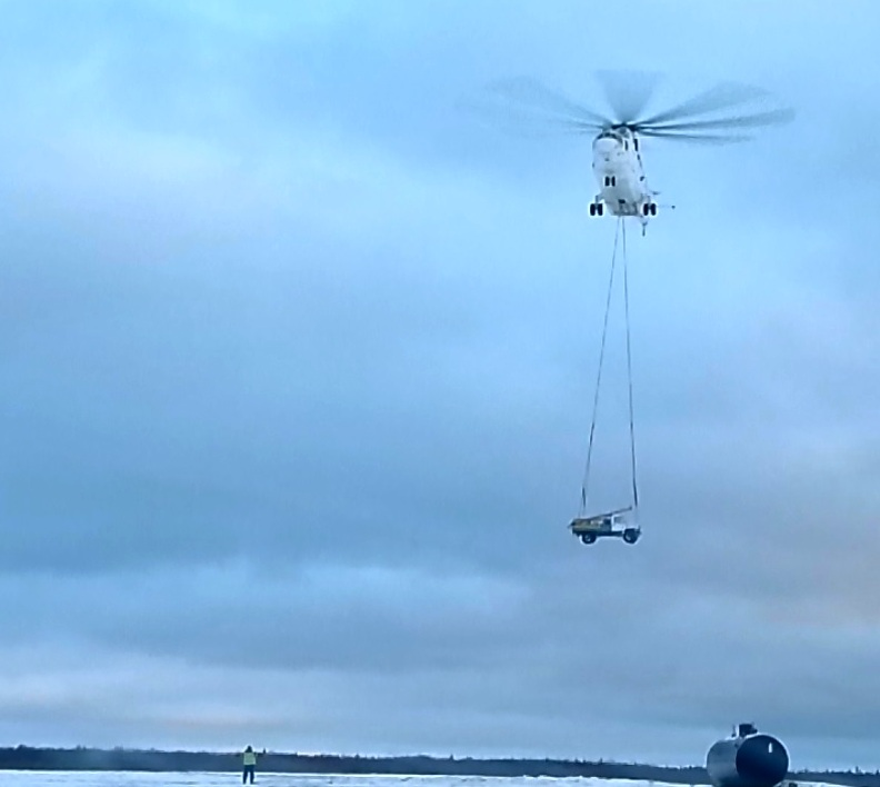 Переброска техники ВВСН на Ямале