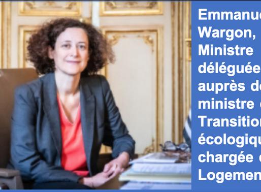 Emmanuelle Wargon, un début de mandat de bon augure