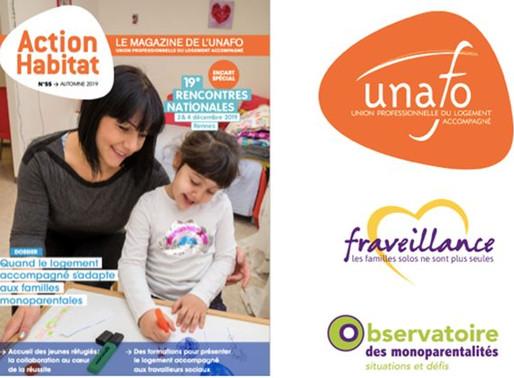 Participation de Famisolo-Fraveillance à la rédaction du magazine action habitat